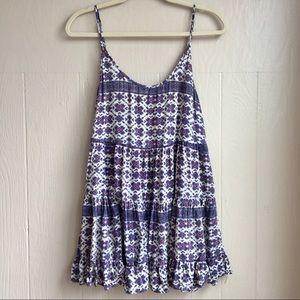 Brandy Melville Purple Bohemian Jada Dress